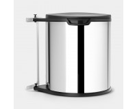 Built-in Bin 15L Brabantia inox brillant