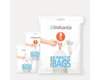 Sacs PERFECTFIT Code B (5 litres), Distributeur, 180 sacs Brabantia