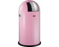 Poubelle Pushboy 50L Classic Rose, Wesco