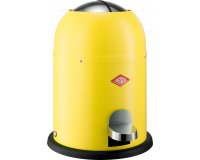 Poubelle Single Master 9L Jaune Citron, Wesco