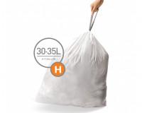 Simplehuman, Sacs 30/35L (H) 20 sacs