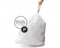 Simplehuman, Sacs 50/60L (P) 20 sacs