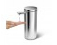 Simplehuman266ml distributeur à capteur rechargeable acier inoxydable poli de haute qualité