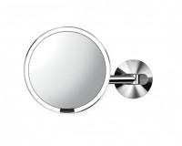 Miroir mural câblé à capteur Simplehuman