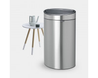 Touch Bin New Recycle 40L Brabantia inox mat