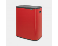 BO TOUCH BIN 60L Brabantia passion red