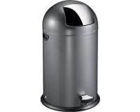 Eko poubelle kickcan 40L gris
