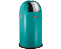 Poubelle Pushboy 50L Classic Turquoise, Wesco