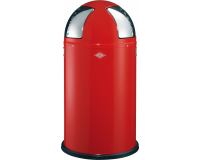 Poubelle Pushtwo 50L Rouge, Wesco