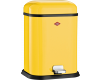 Poubelle Single Boy 13L Jaune Citron, Wesco