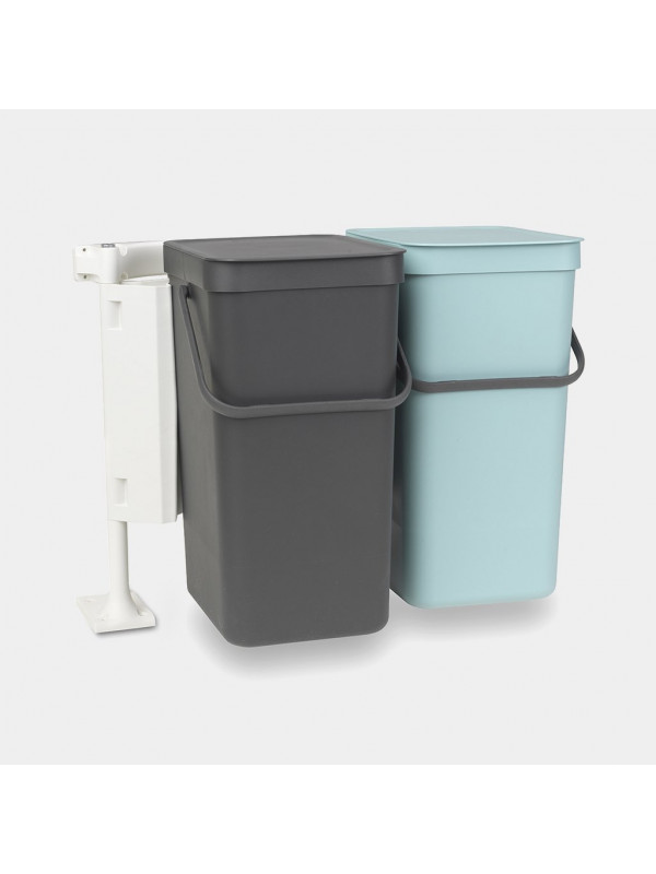 Brabantia Sort & Go built in bin 2x16L