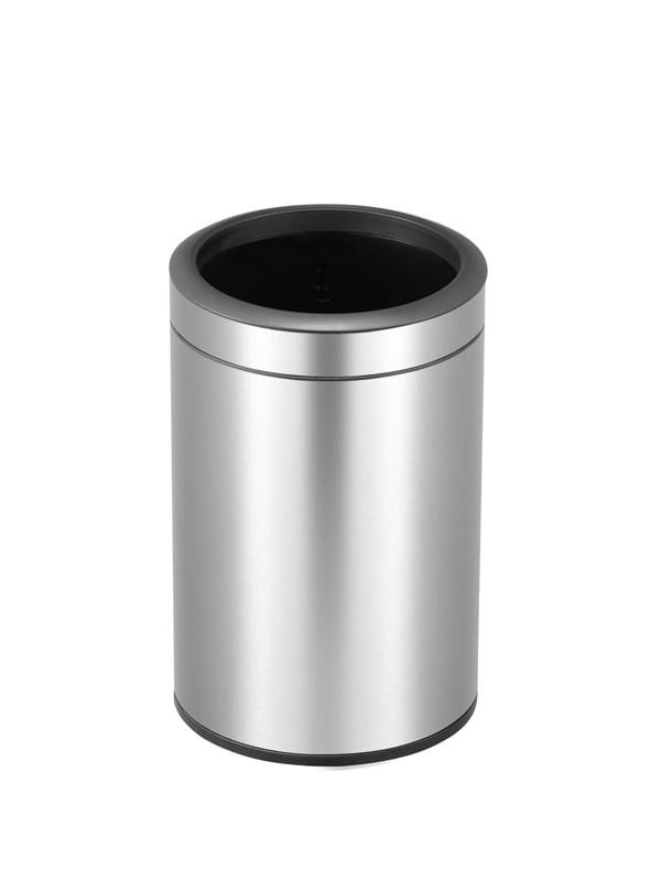 Petite poubelle ronde eko 12 litres ouverte