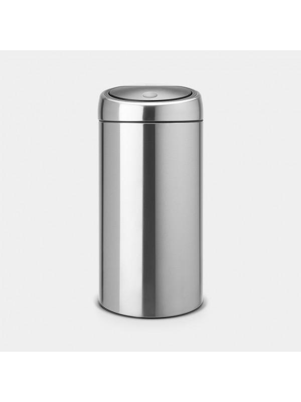 Brabantia Touch Bin recycle 2x20L inox mat