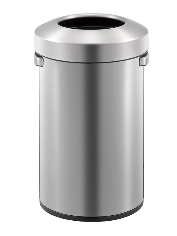 Poubelle Urban 50 litres inox mat Eko