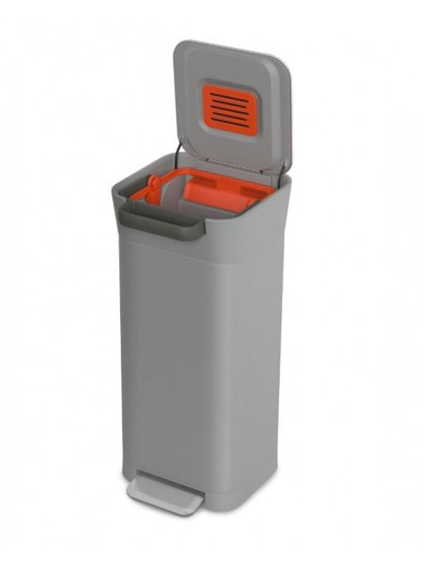 Titan trash compactor 20L Gris pierre