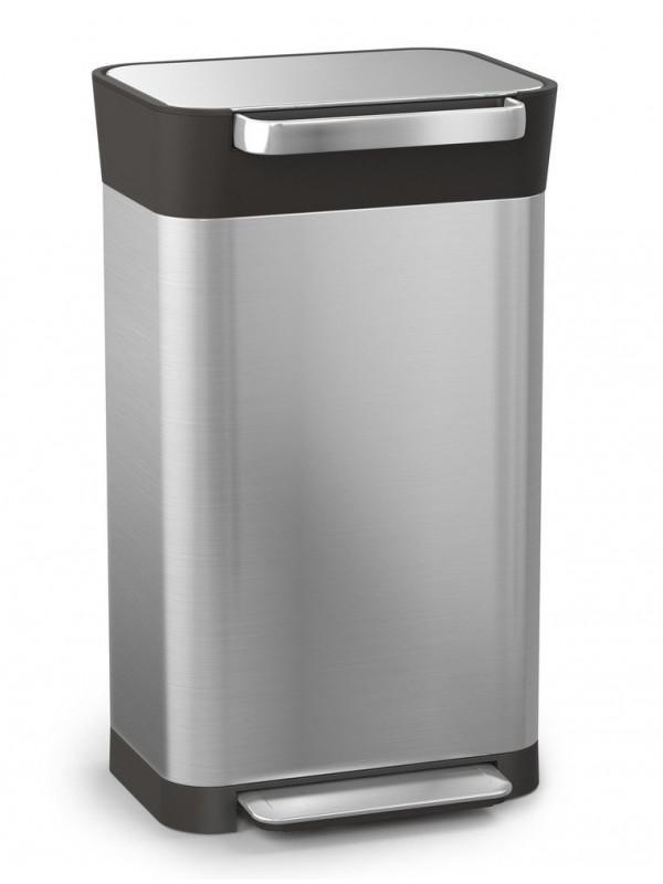 Compacteur-déchets-Titan30L-acier-inoxydable-JosephJoseph3