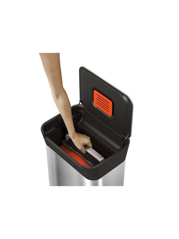 Compacteur-déchets-Titan30L-acier-inoxydable-JosephJoseph4