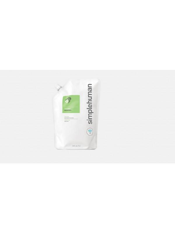 1 litre concombre recharge de savon liquide hydratant simplehuman