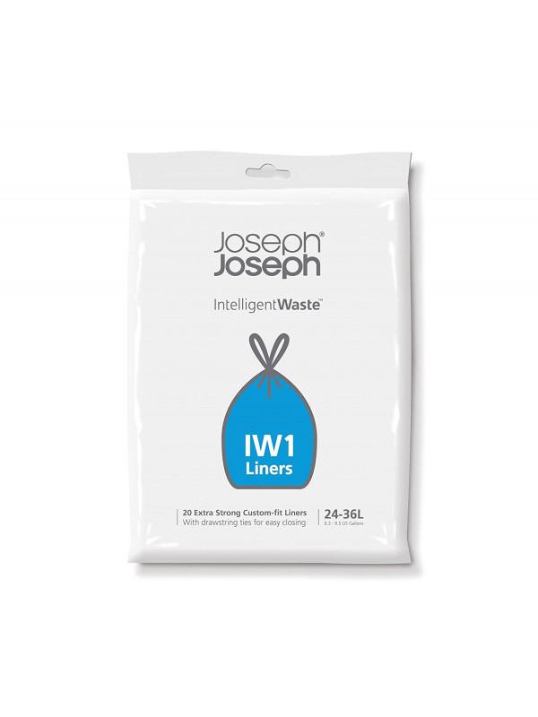 20 sacs poubelle IW1 24/36 L, Joseph Joseph