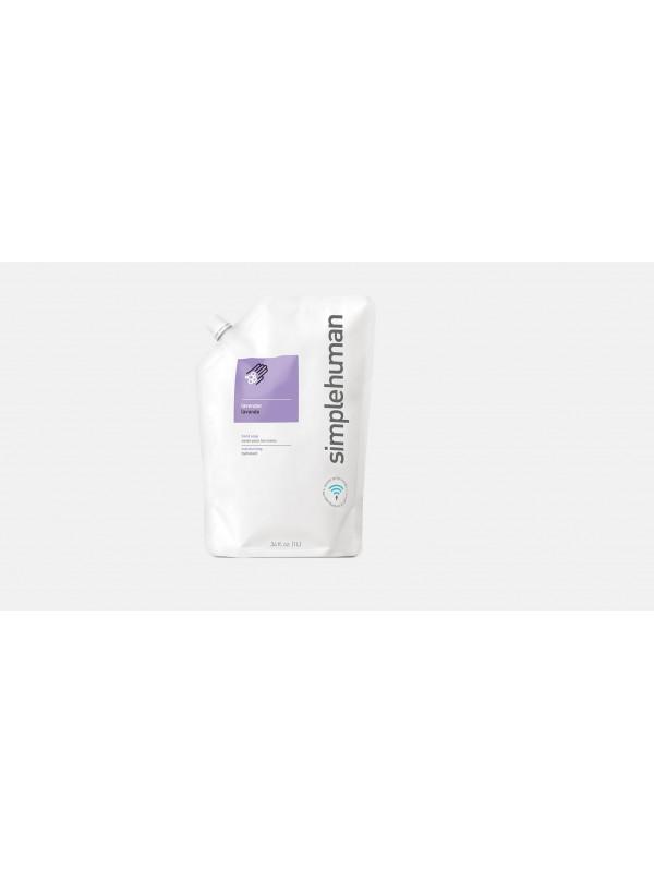 1 litre lavande recharge de savon liquide hydratant simplehuman