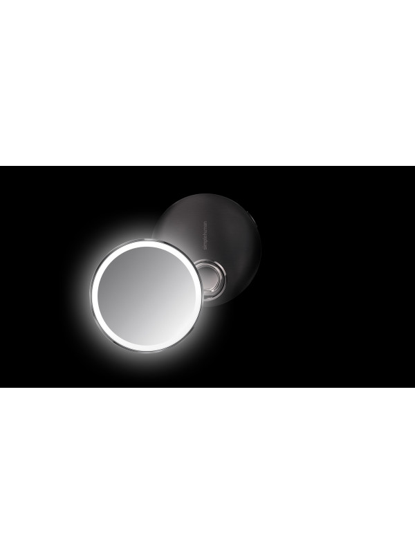 Miroir compact noir à capteur Simplehuman