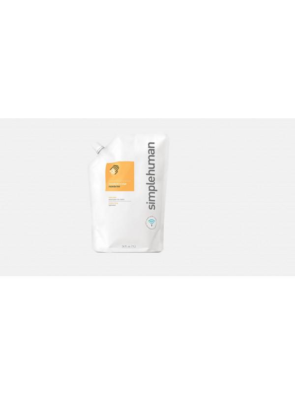 1 litre orange mandarine recharge de savon liquide hydratant Simplehuman