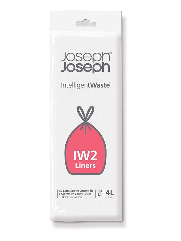 20 sacs poubelle IW2 4 Litres Joseph Joseph