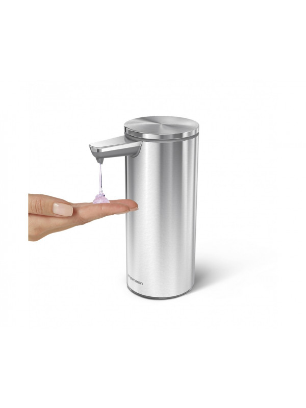 Distributeur à capteur rechargeable 266ml Simplehuman