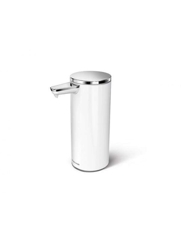 266ml distributeur à capteur rechargeable acier inoxydable blanc