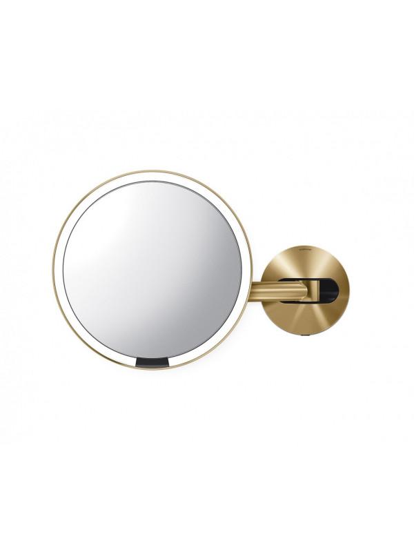 miroir mural simplehuman laiton